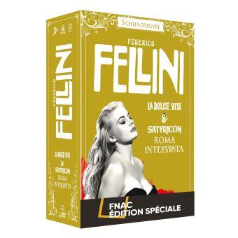 Coffret Fellini 5 Films Edition Spéciale Fnac DVD