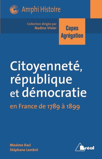 Citoyenneté, république et démocratie