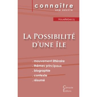 Fiche de lecture La Possibilité d'une île (Analyse ...