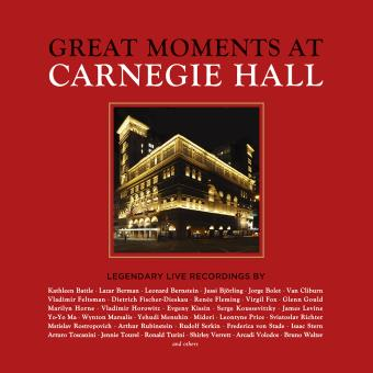 Great moments at Carnegie Hall Coffret Edition Deluxe Inclus livret 105 pages