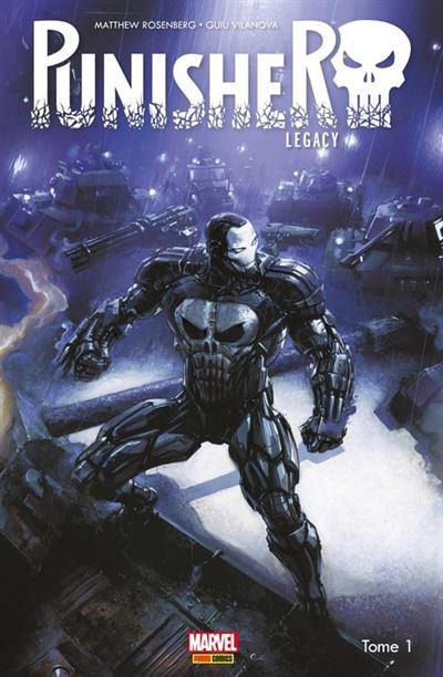Punisher Legacy (2018) T01 - War machine - 9782809480382 - 10,99 €