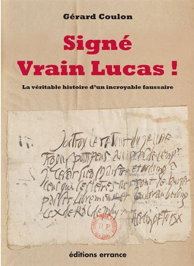 Signé Vrain Lucas !