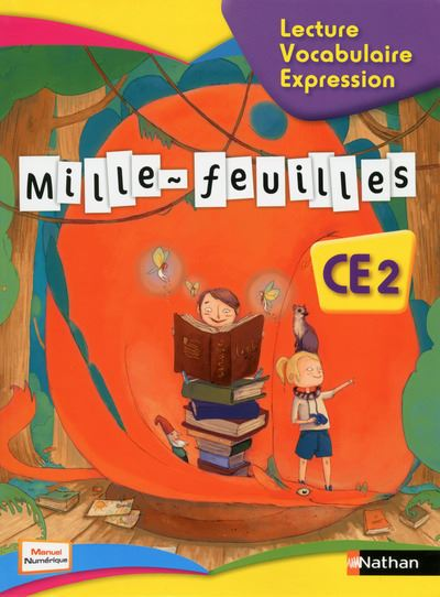 Mille Feuilles Textes CE2 - Manuel