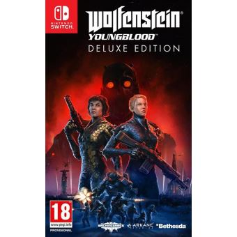 Wolfenstein : Youngblood deluxe edition fr/nl switch