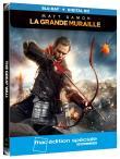 La Grande Muraille Edition Spéciale Fnac Steelbook Blu-ray