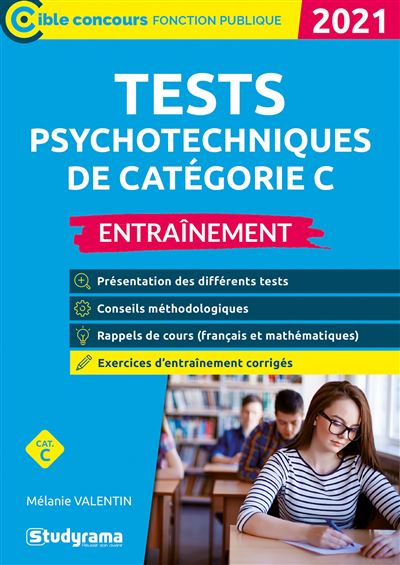 Tests psychotechniques de catégorie C 2020