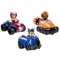 Pack 3 Véhicules de Secours 2 Paw Patrol Chase, Zuma, Ryder Spinmaster