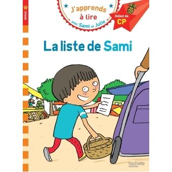 Sami et JulieSami et Julie CP Niveau 1 La liste de Sami