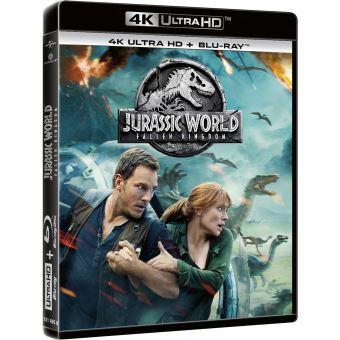 Jurassic ParkJurassic World : Fallen Kingdom Blu-ray 4K Ultra HD