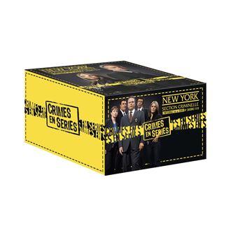 New York Section CriminelleCoffret New York Section Criminelle L'intégrale de la série DVD