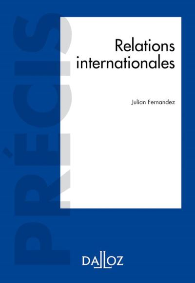 Relations internationales - 9782247181988 - 26,99 €