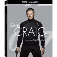 Coffret Daniel Craig La Collection James Bond 007 4 Films Blu-ray 4K Ultra HD