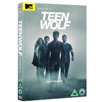TEEN WOLF - SEASON 4 (DVD) (IMP)