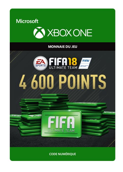 FIFA 18 : Ultimate Team FIFA Points 4600 - Code de télechargement - Xbox One