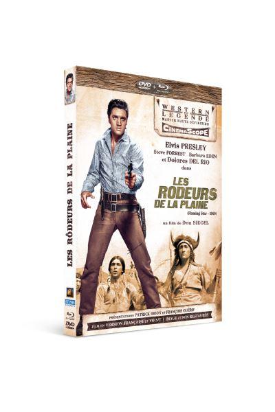Les rôdeurs de la plaine edition limitée combo blu ray dvd