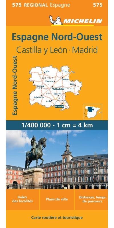 Espana Noroeste : Castilla y Léon, Madrid
