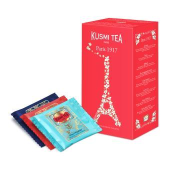 Étui de 24 sachets mousseline enveloppés Paris 1917 Kusmi Tea 52,8 g