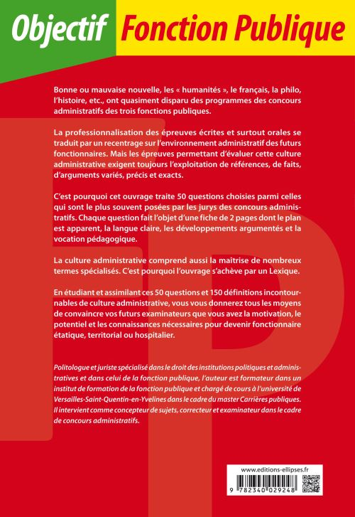bf88a15cb5e 50 questions incontournables de culture administrative Toutes catégories