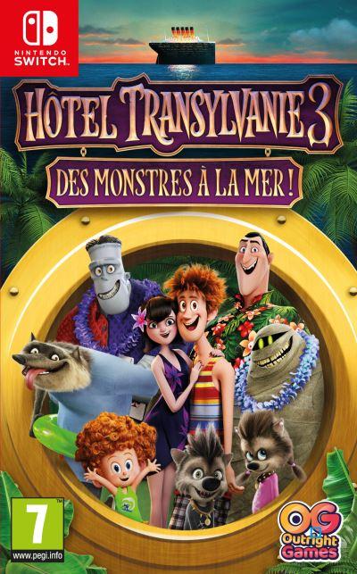 Hotel Transylvanie 3 Des Monstres à la Mer ! Nintendo Switch