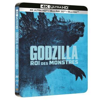 Godzilla, la trilogieGodzilla 2 : Roi des Monstres Steelbook Blu-ray 4K Ultra HD