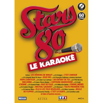 STARS 80 LE KARAOKE/5DVD