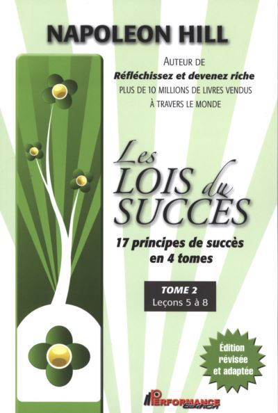 Les lois du succès 2 : Leçons 5 à 8 - 9782923746876 - 11,99 €