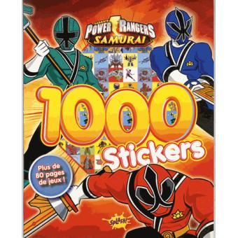 power rangers 1000 stickers collectif broch achat livre fnac. Black Bedroom Furniture Sets. Home Design Ideas
