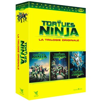 Les Tortues NinjaLes Tortues Ninjas La trilogie DVD