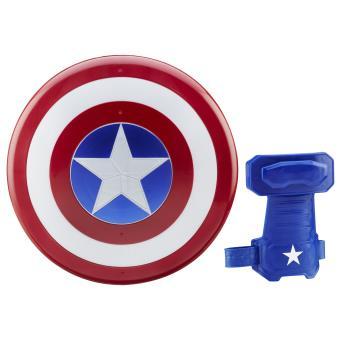 bouclier magn tique captain america avengers accessoire de d guisement fnac. Black Bedroom Furniture Sets. Home Design Ideas