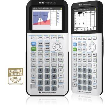 Texas Instruments TI-83 Premium CE Mode Examen