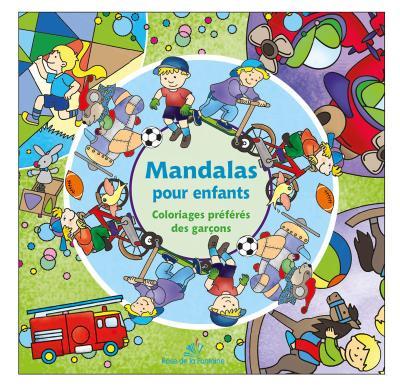 Mandalas pour enfants - Coloriages préférés des garçons