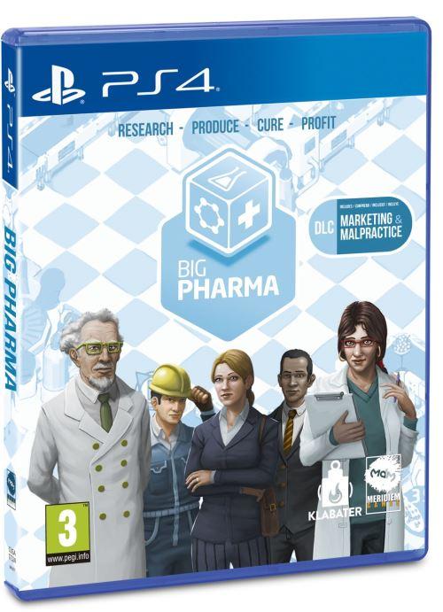 Big Pharma Manager Edition PS4