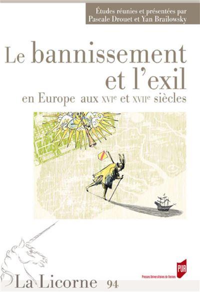 Bannissement et l exil en europe