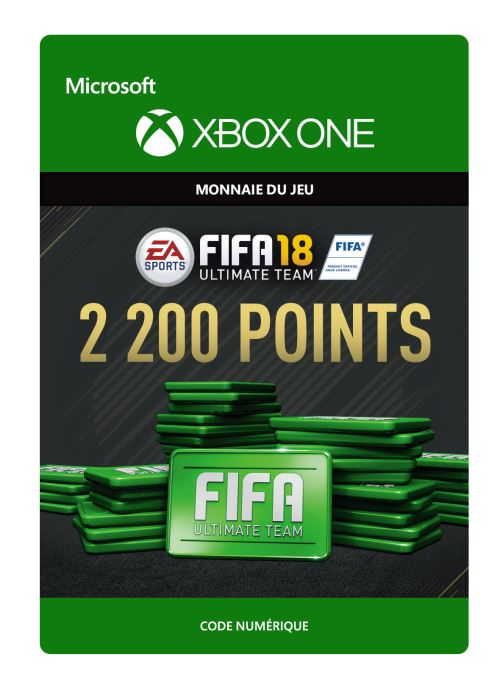 FIFA 18 : Ultimate Team FIFA Points 2200 - Code de télechargement - Xbox One
