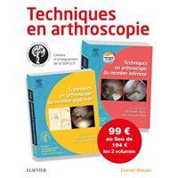 Techniques en arthroscopie. PACK 2 volumes
