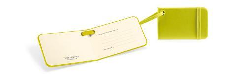Etiquettes pour bagages - Vert citron