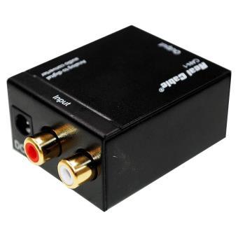 convertisseur audio analogique vers num rique real cable. Black Bedroom Furniture Sets. Home Design Ideas