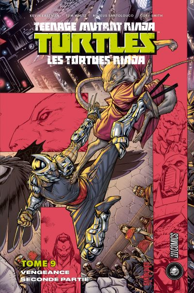 Les Tortues Ninja - TMNT, T9 : Vengeance - Seconde partie