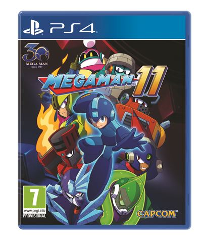 Mega Man 11 PS4