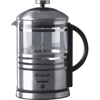 Elektrisch koffiezetapparaat met zuiger Brandt CAF100PX 1000W zwart