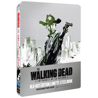 The Walking DeadThe Walking Dead Saison 1 Edition limitée Steelbook Blu-ray