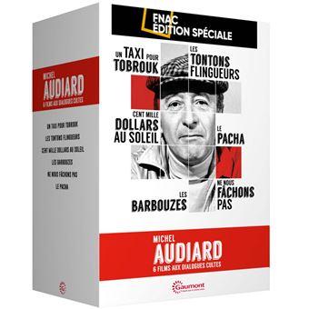 Coffret Michel Audiard Edition spéciale Fnac DVD