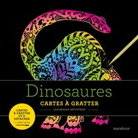 Livres à gratter : Dinosaures