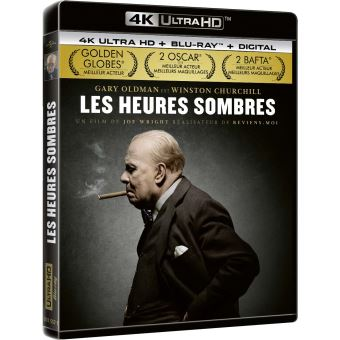 Les Heures sombres Blu-ray 4K Ultra HD