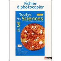 Toutes les sciences c3 ficphot