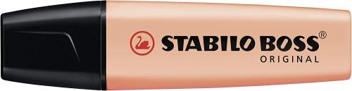Surligneur Stabilo Boss Original Pastel Pêche