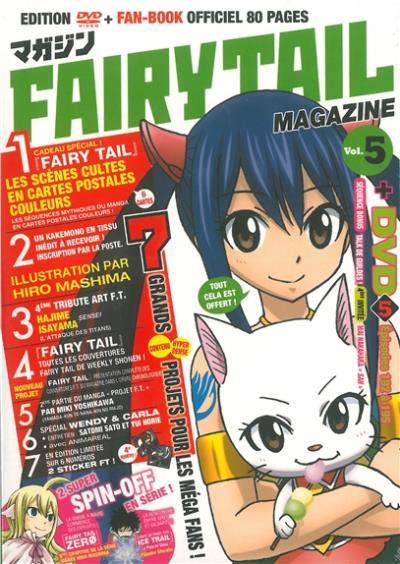Fairy tail magazine vol 5