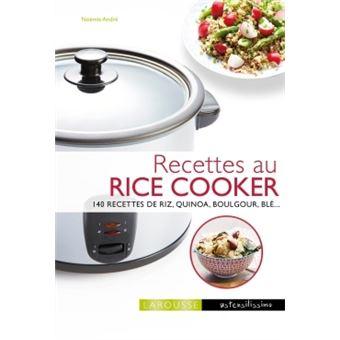 recettes au rice cooker 140 recettes de riz quinoa boulgour bl cartonn no mie andr. Black Bedroom Furniture Sets. Home Design Ideas