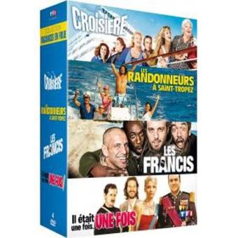 Coffret Vacances en folie DVD