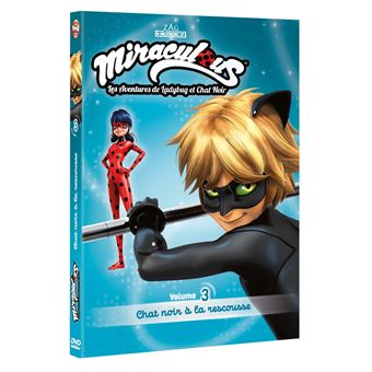 Miraculous LadybugMiraculous LadyBug Volume 3 Chat noir à la rescousse DVD